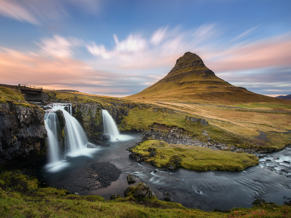 Kirkjufell sunset by Mads Peter Iversen