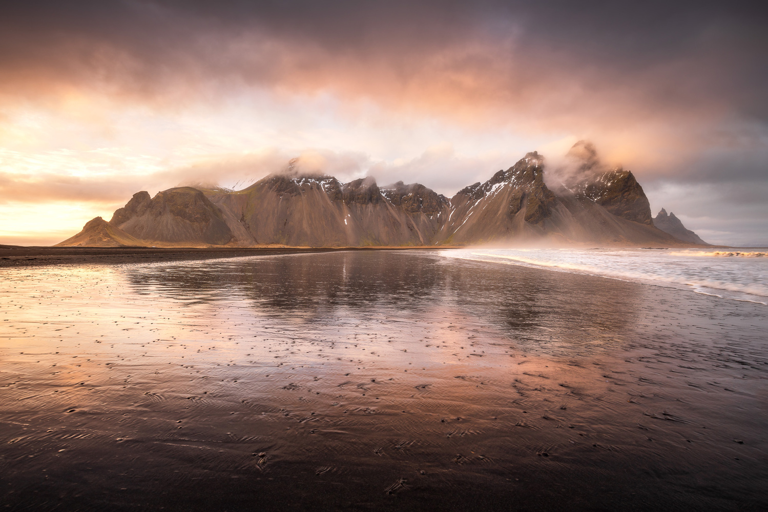 Sunset at Vestrahorn by Mads Peter Iversen