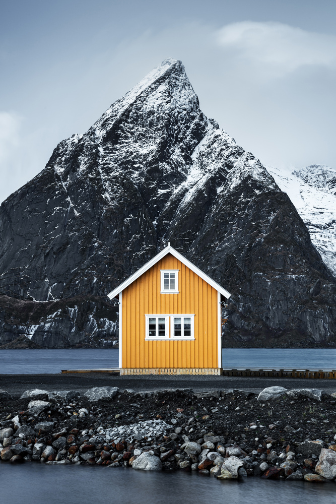 The Yellow House by Mads Peter Iversen
