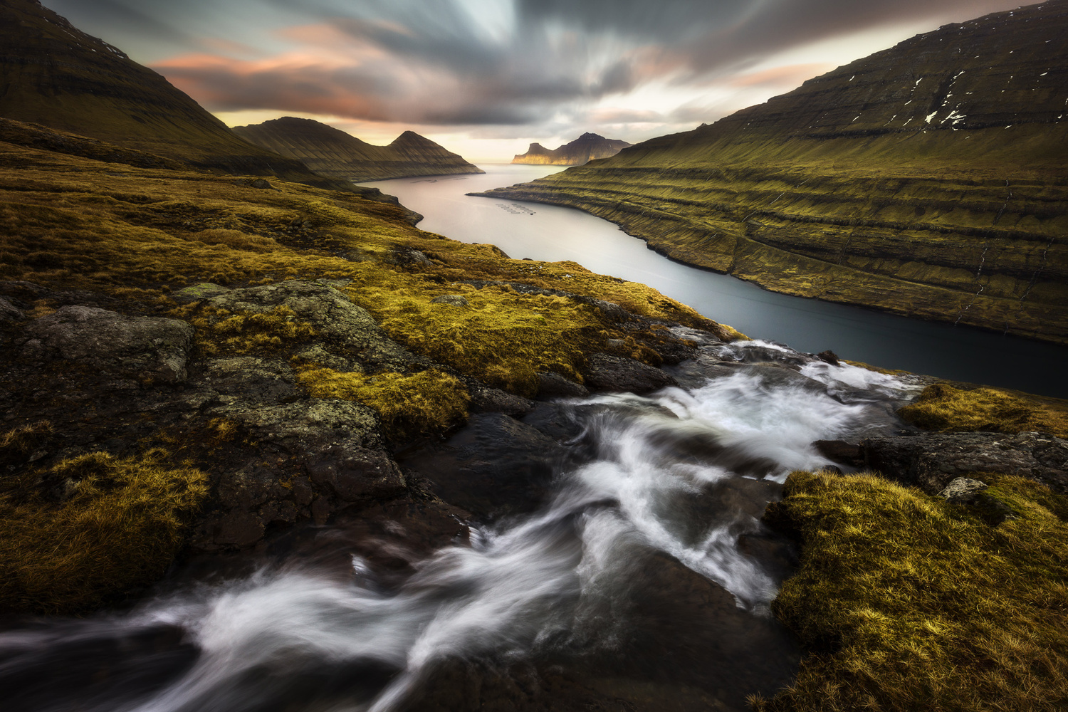 View towards Kalsoy by Mads Peter Iversen