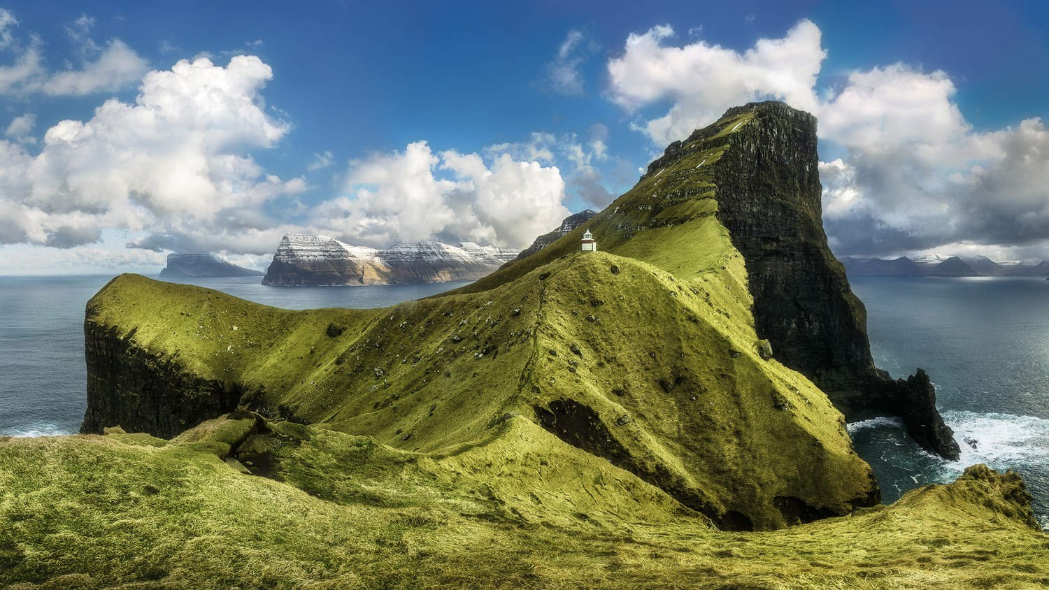 Kalsoy Panorama by Mads Peter Iversen