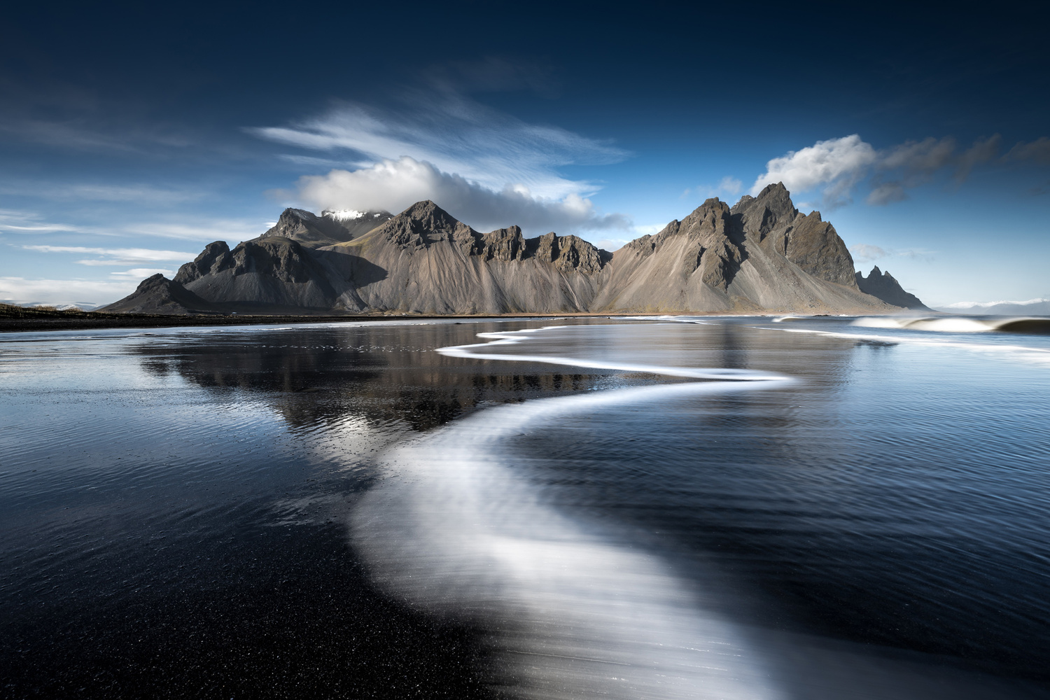 Stokksnes leading line by Mads Peter Iversen