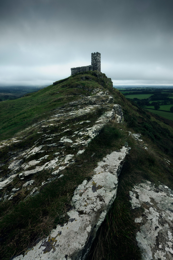 Brentor Church by Mads Peter Iversen