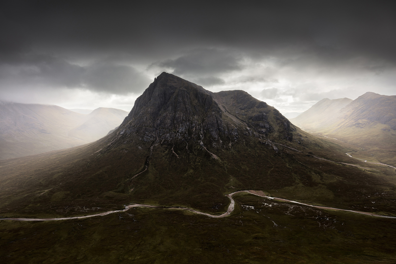 Buachaille Etive Mor by Mads Peter Iversen