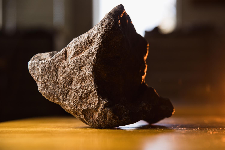 The Edmore Meteorite by Adam Sparkes