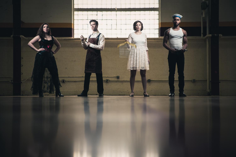 Sweeney Todd Cast - CMU by Adam Sparkes