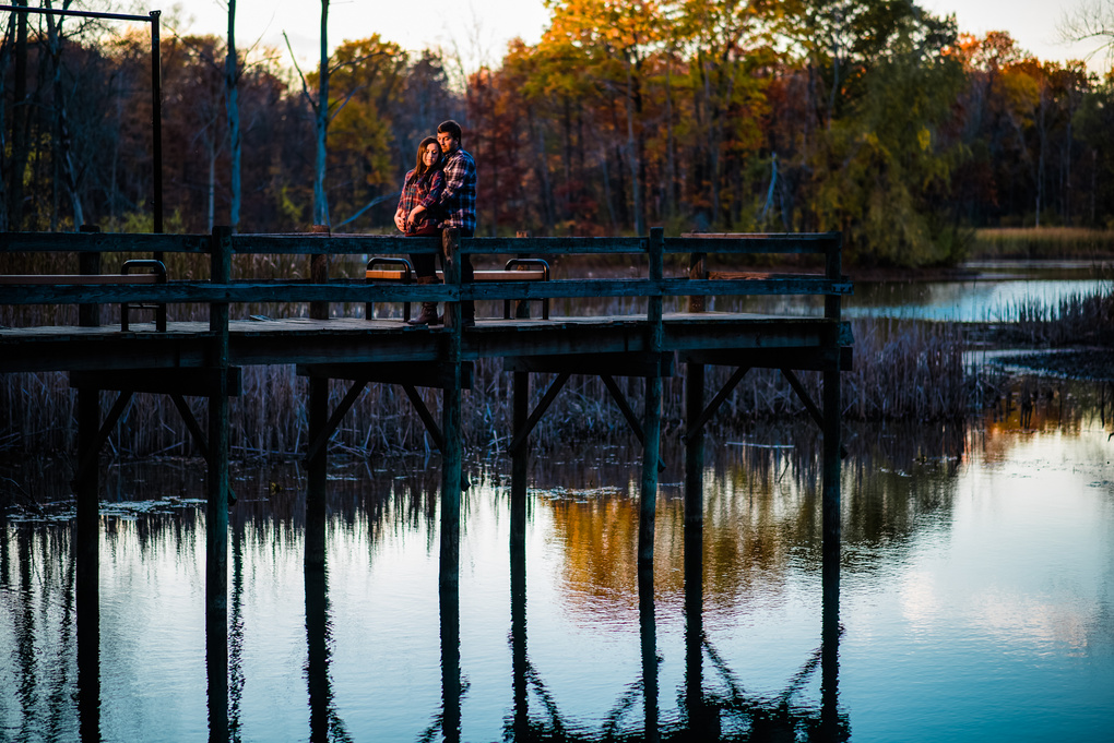 Robby & Leah at Mayberry in the Fall by Adam Sparkes
