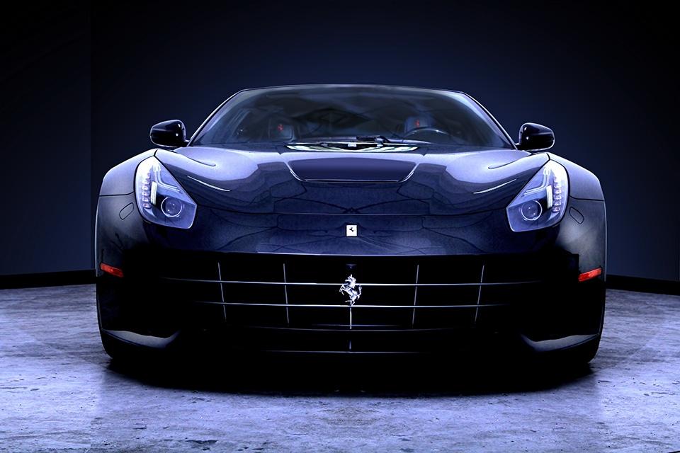 Ferrari F16 by Robin Browne