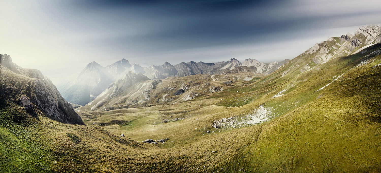 Korab Panorama by Ivan Vukelic