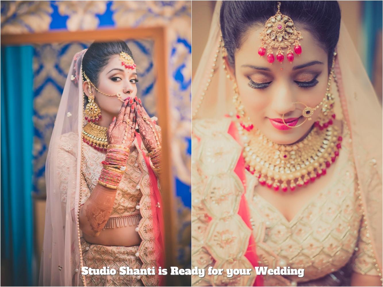 Bride Getting Ready by Ajay Sadhwani