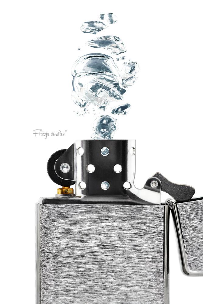 Water Zippo experiment by Tomas Rak