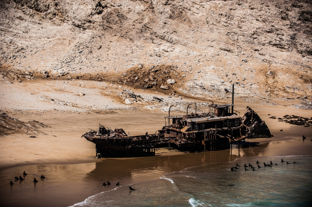 Wreck of the MS Otavi by Johnny Graham