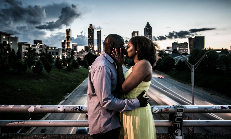Big City Kiss by James Dinsmoor