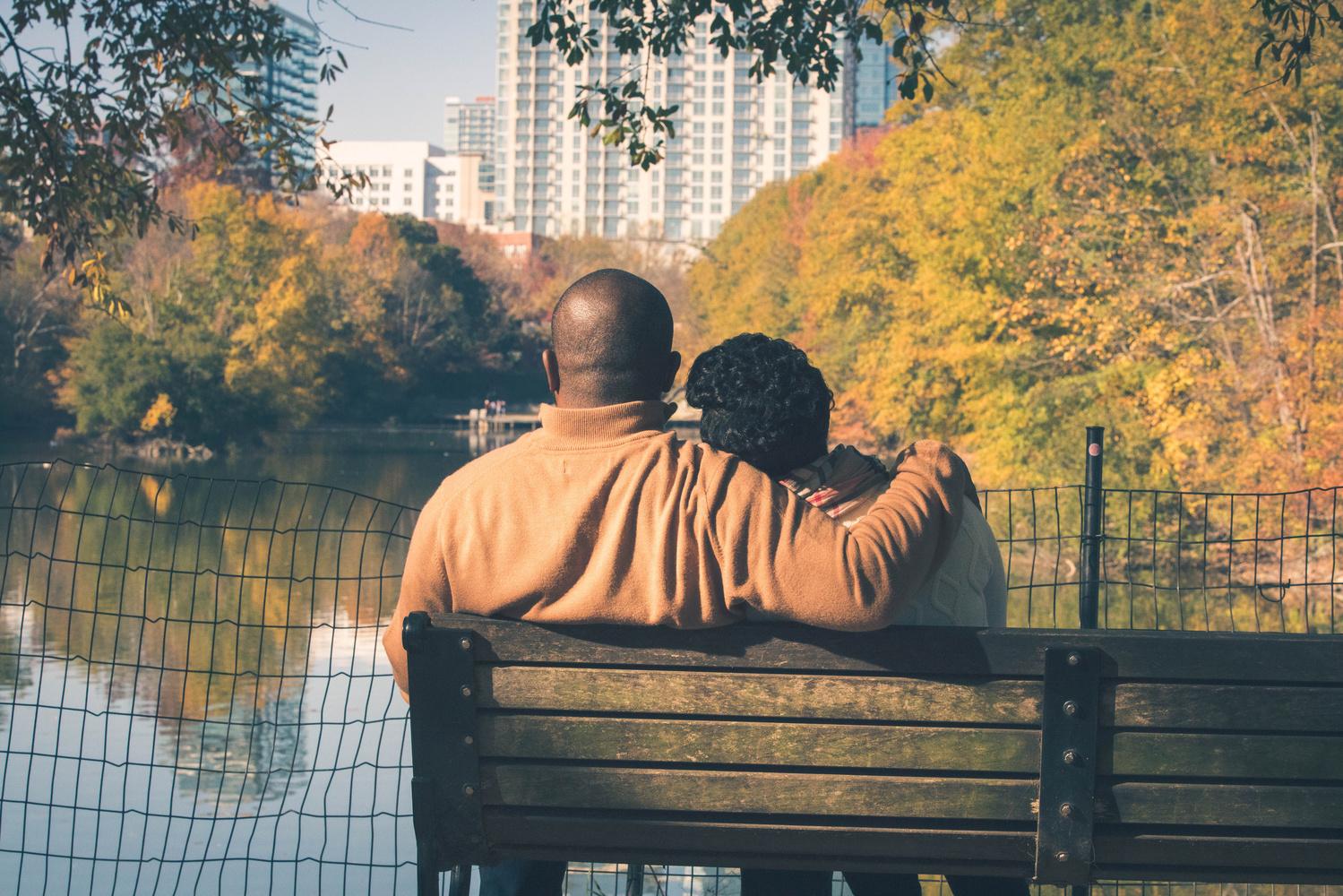 Autumn Love by James Dinsmoor