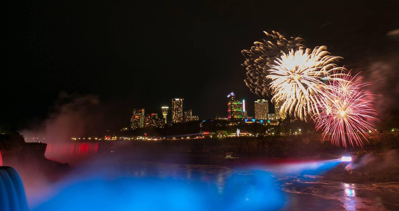 Niagara at night by James Dinsmoor