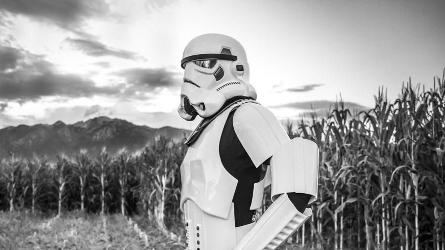 Corn Trooper by steven milner