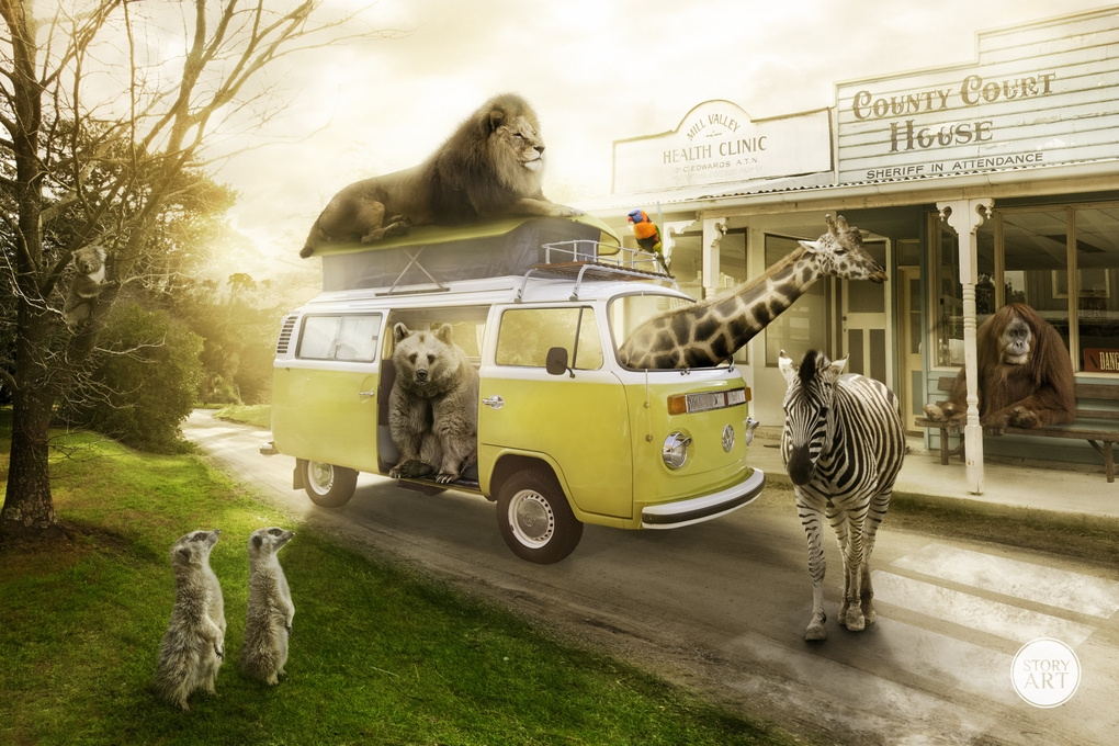 Animal Bus by Karen Alsop