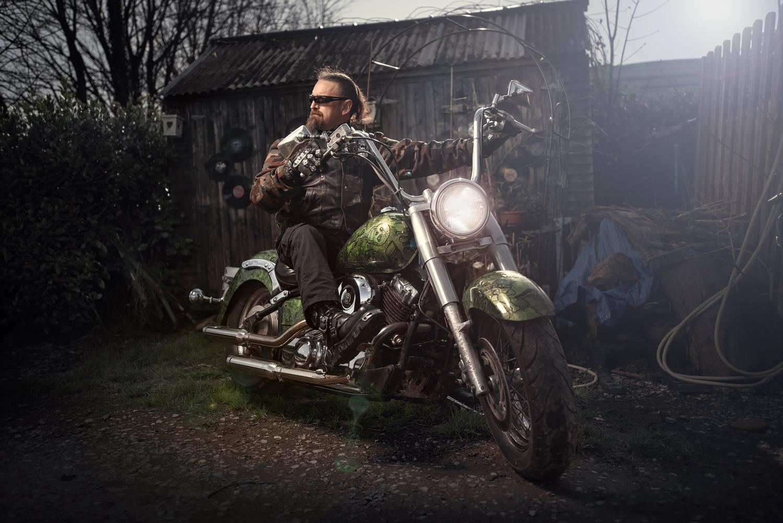Biker by Vytenis Malisauskas
