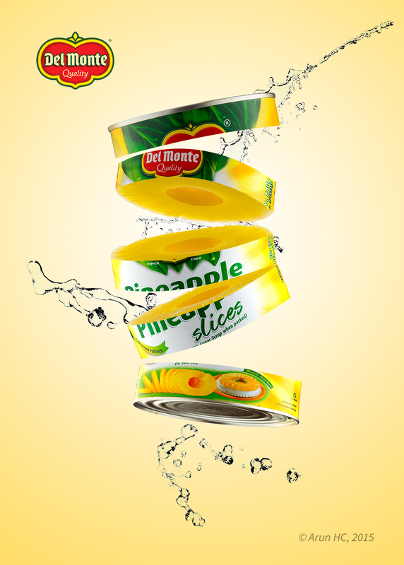 Delmonte sliced by Arun HC