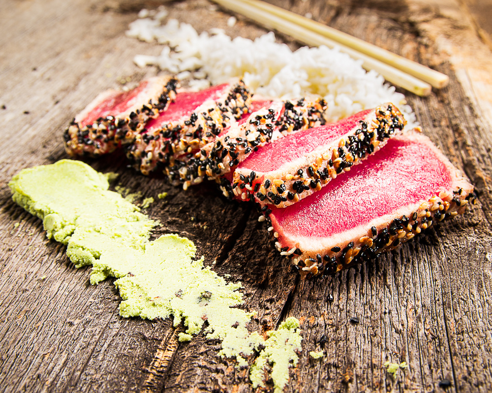 Seared Tuna by Jeffrey McDonald