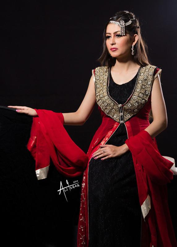 Red & Black by Ali Ishaq