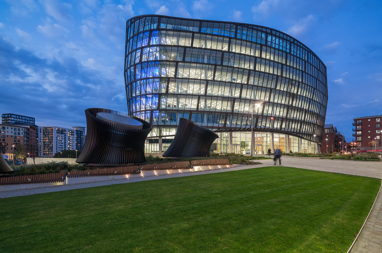 1 Angel Square by Jonathan Reid