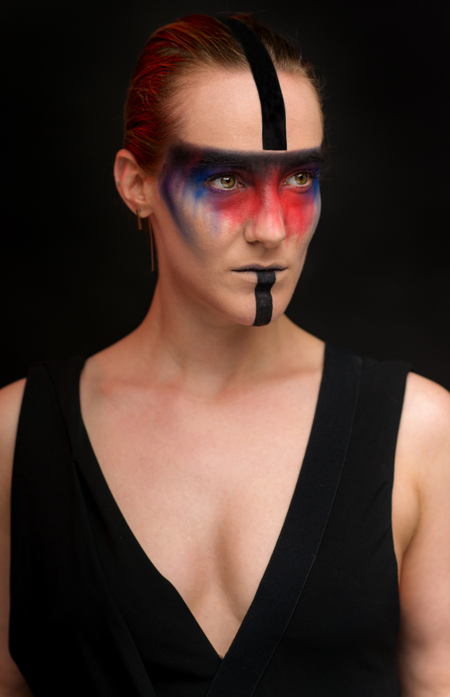 Portrait of Model Elyssa Johnson by Jay Montez