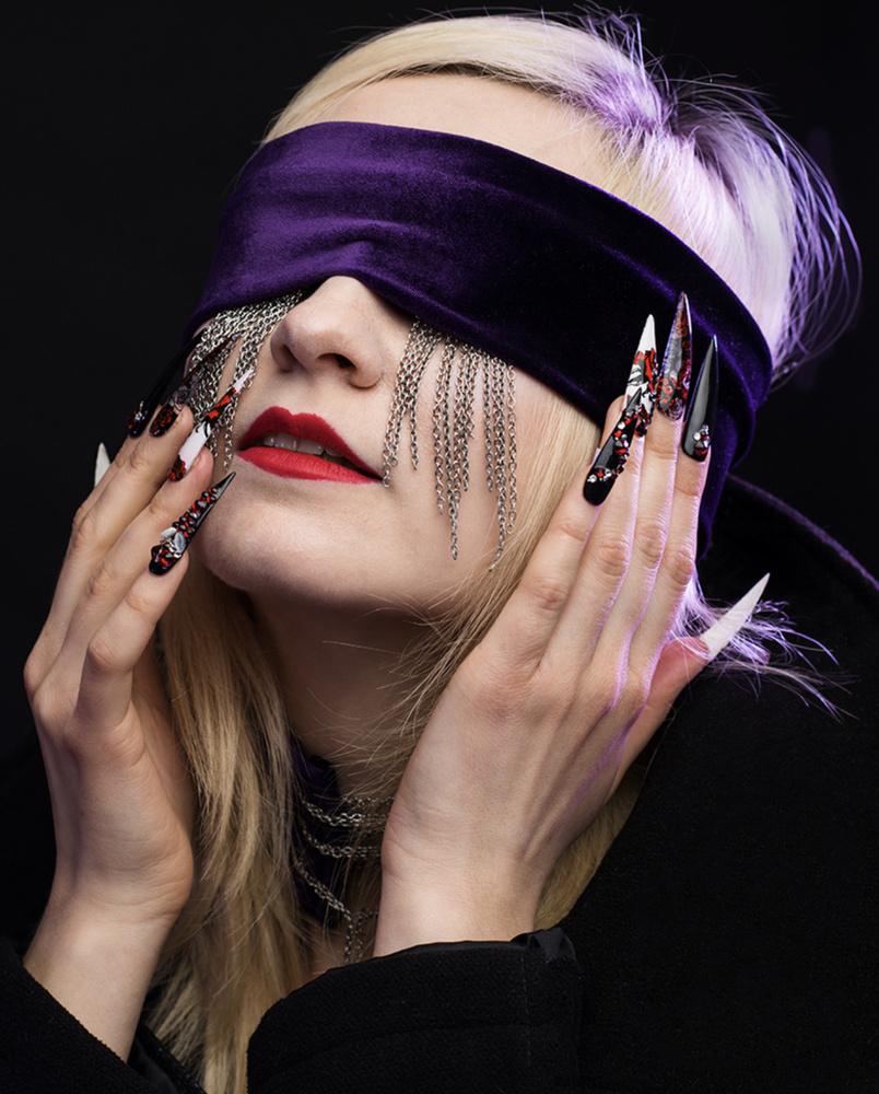 Portrait of Model Alli Ann Grin by Jay Montez
