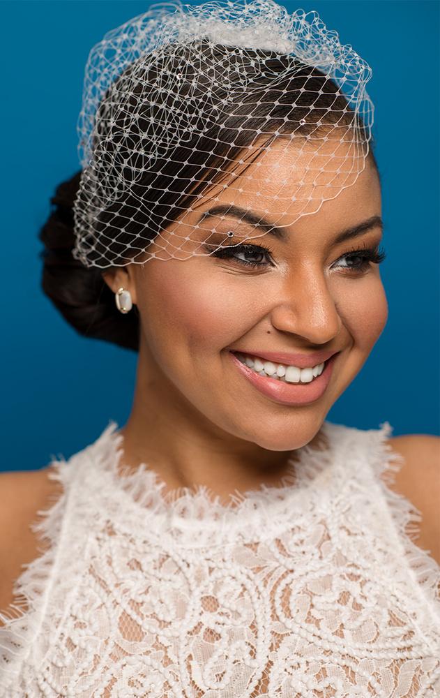 Bridal Portrait of Model Aurea Gonzalez by Jay Montez