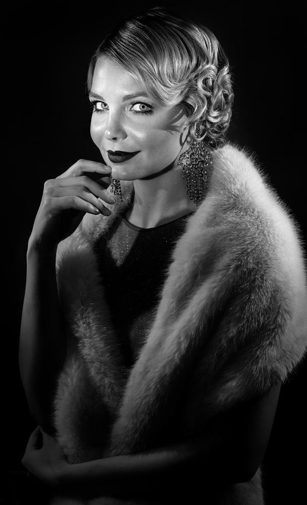 Portrait of Model Aeriane Cohen by Jay Montez
