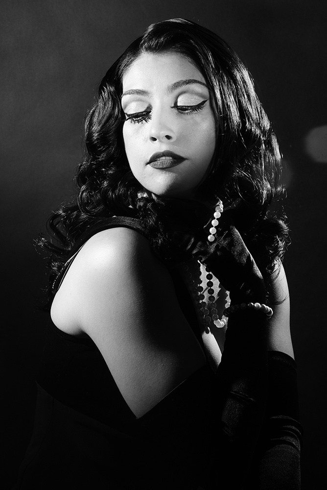 Portrait of Model Patricia Faolli by Jay Montez
