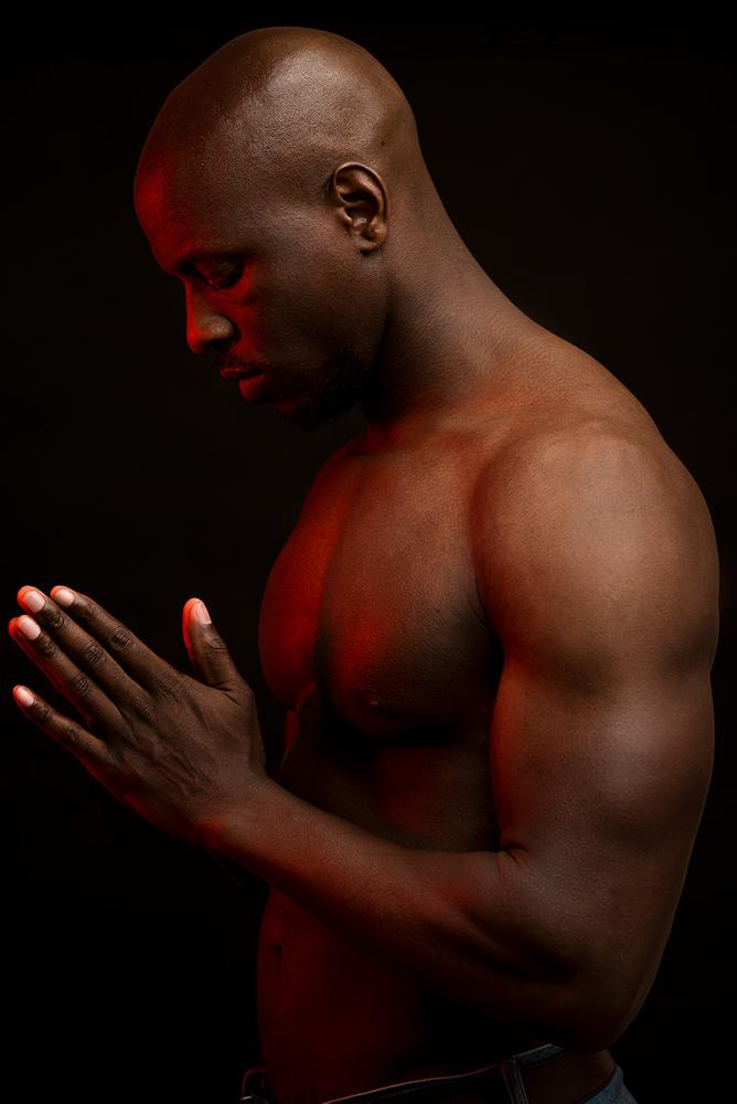Portrait of Singer/Songwriter Damiyr Shuford by Jay Montez