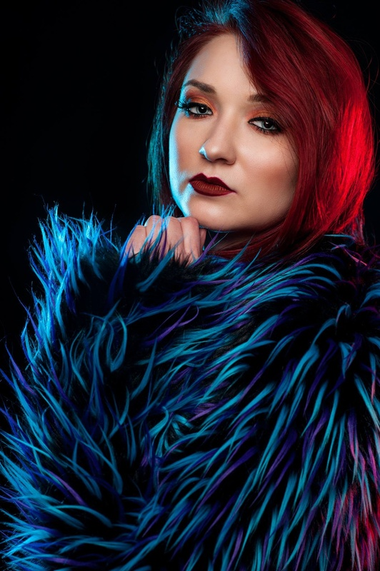 Portrait of Model Alii Ann Grin by Jay Montez