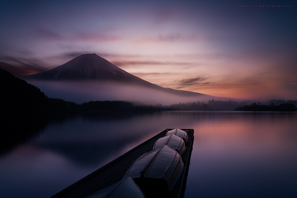 Mysterious Fuji by Gerald Macua