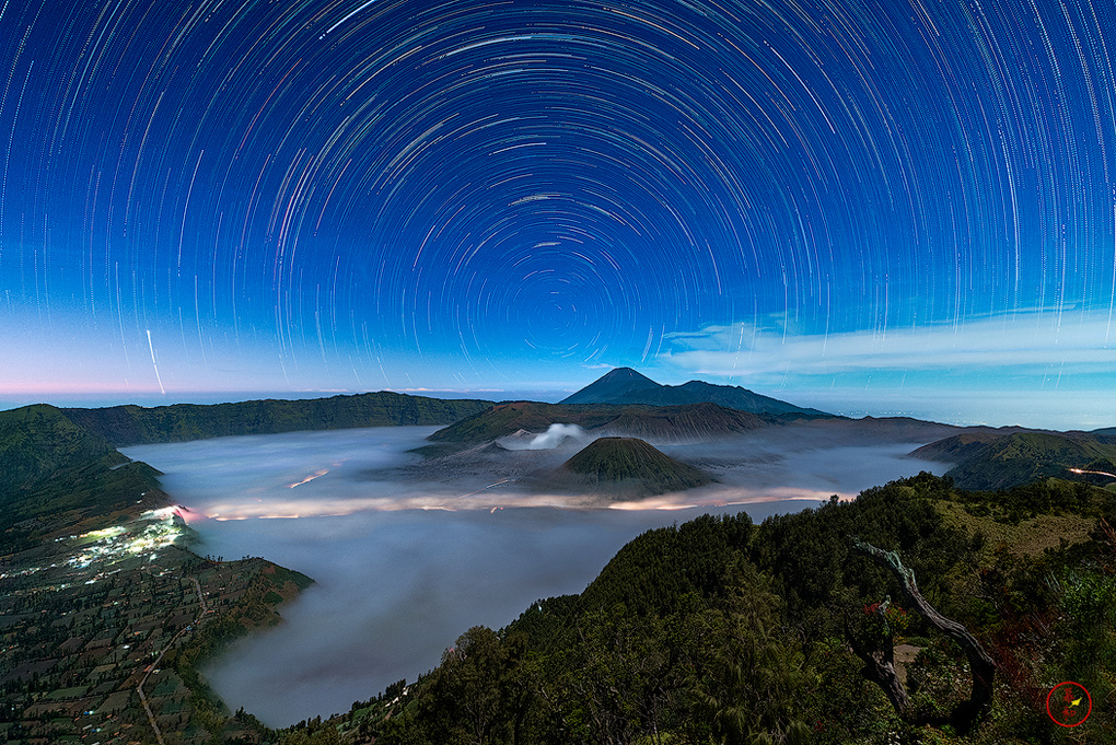 Bromo and the sleeping giants by Gerald Macua