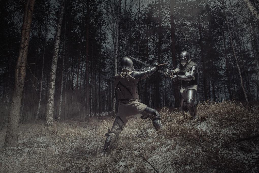 Knights by Dariusz G
