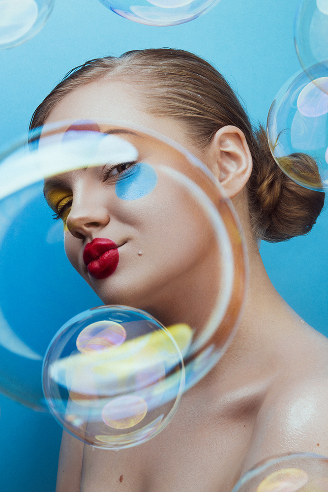 Bubble world by Dariusz G