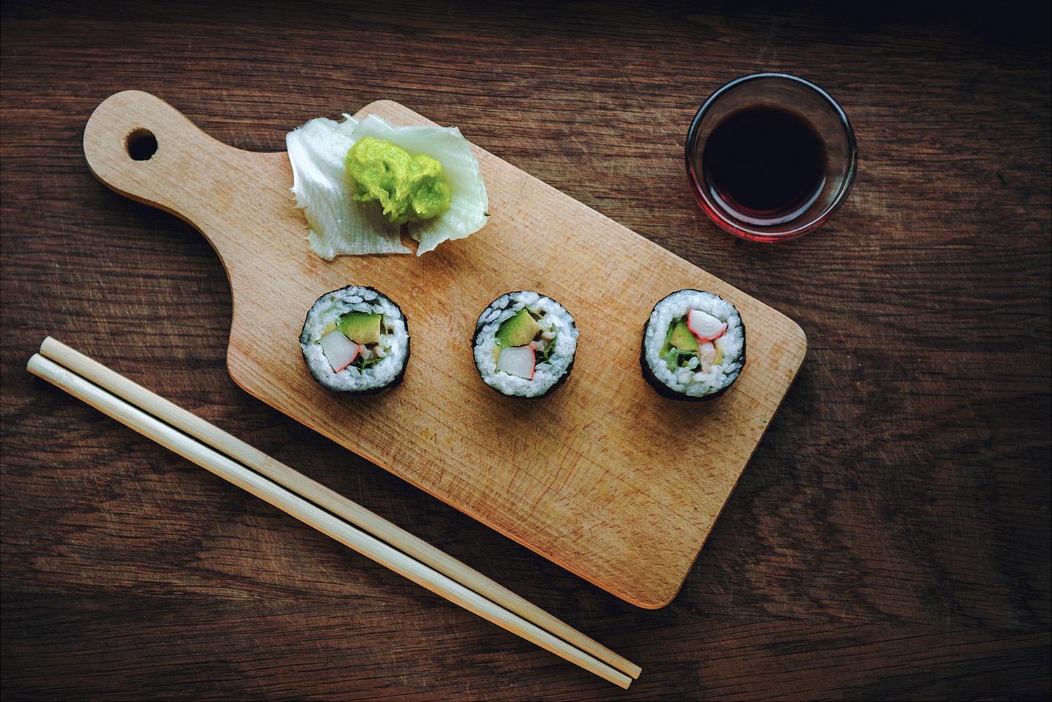 Sushi maki by Dariusz G