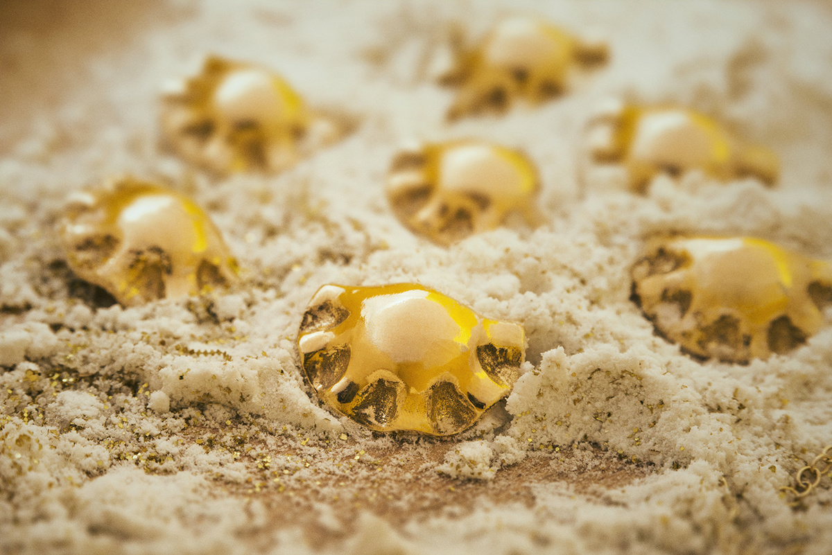 Golden Dumplings by Dariusz G