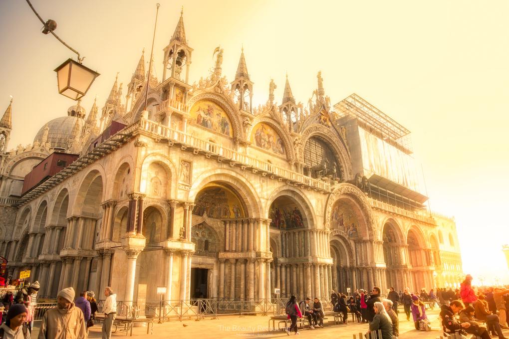 Saint Mark's Basilica, Venice by Charn Bedi