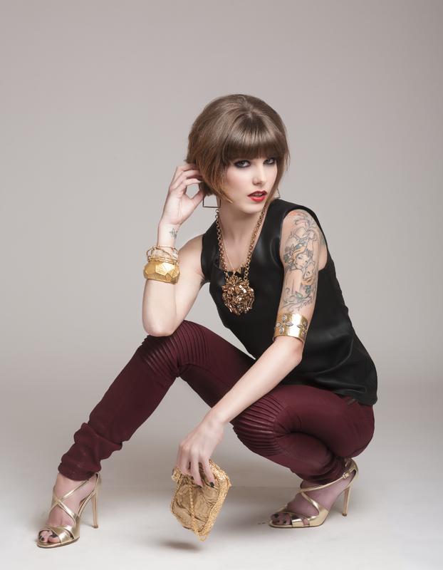 Model In Studio by Noel Martin