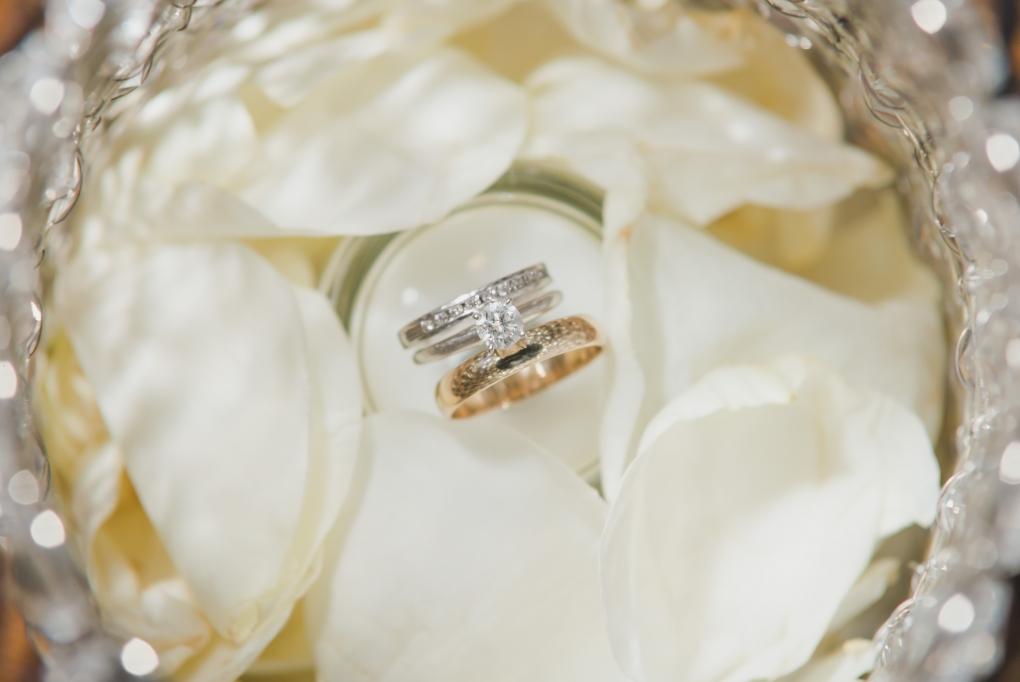 Flower Petal rings by Chuck Navarro