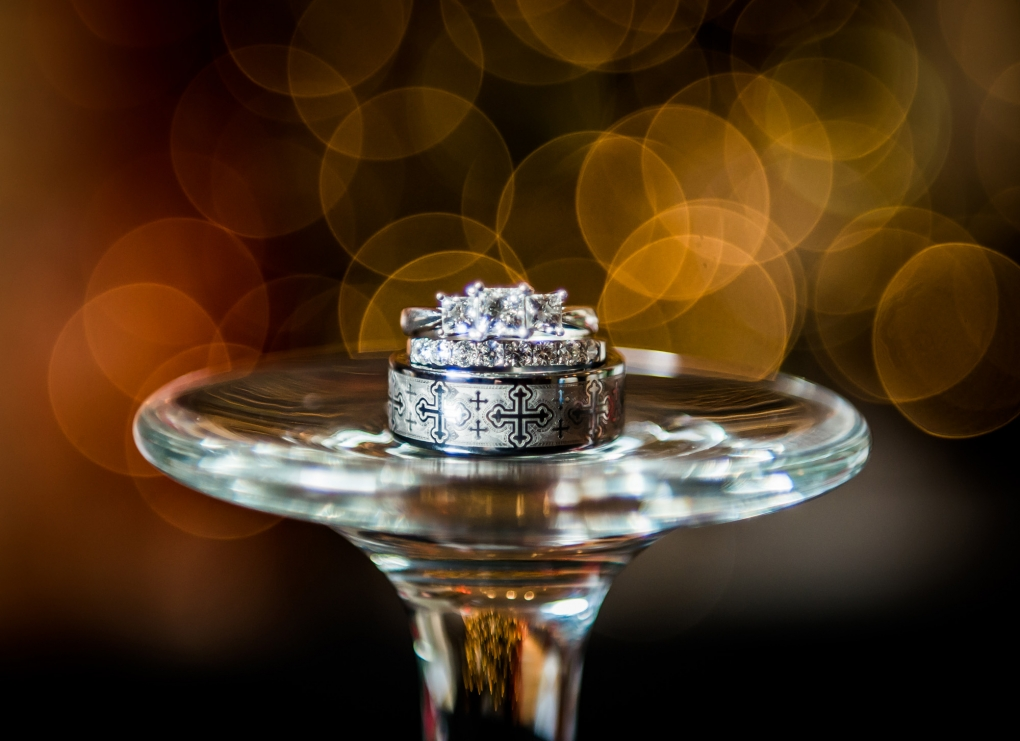 Bokeh Ring by Chuck Navarro