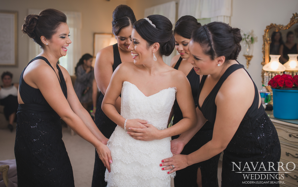 Dressing the Bride. by Chuck Navarro