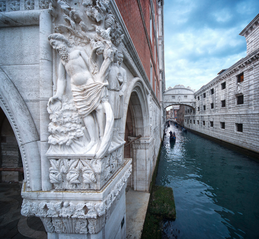 Moses and the Bridge of Sighs by Scott Marx
