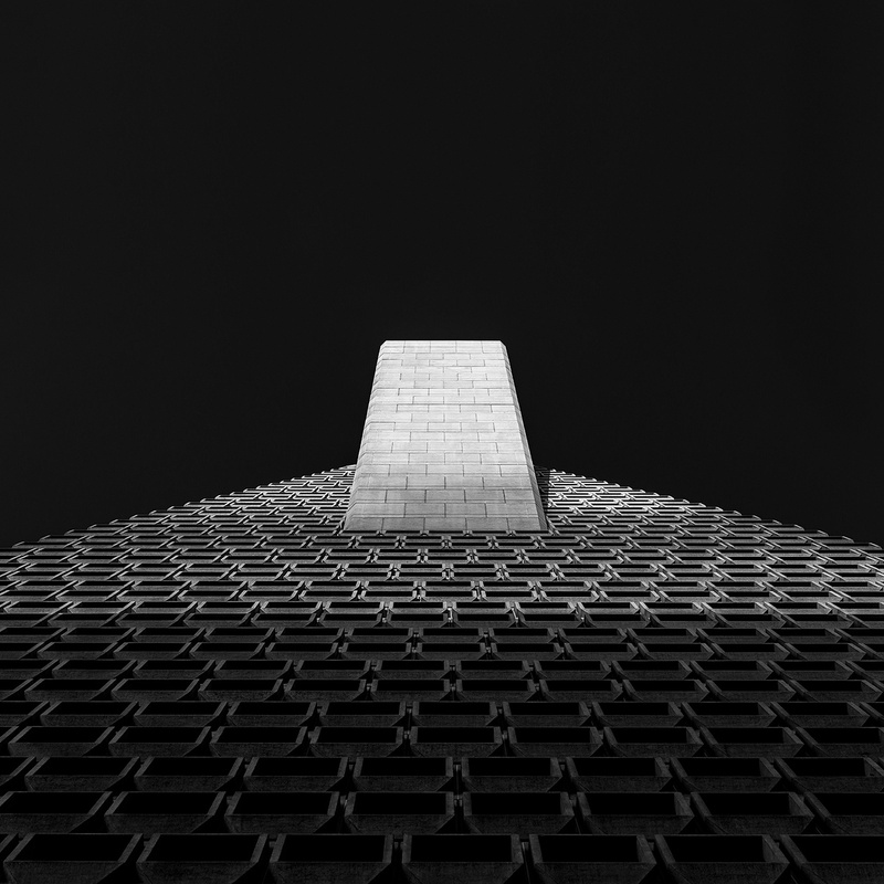 Transamerica Pyramid by Mirza Hasanefendic