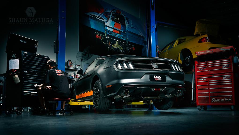The CMA Mustang by Shaun Maluga
