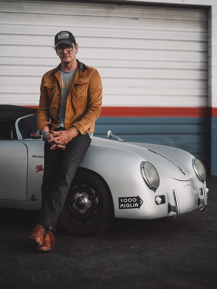 Adam and his Speedster by Shaun Maluga
