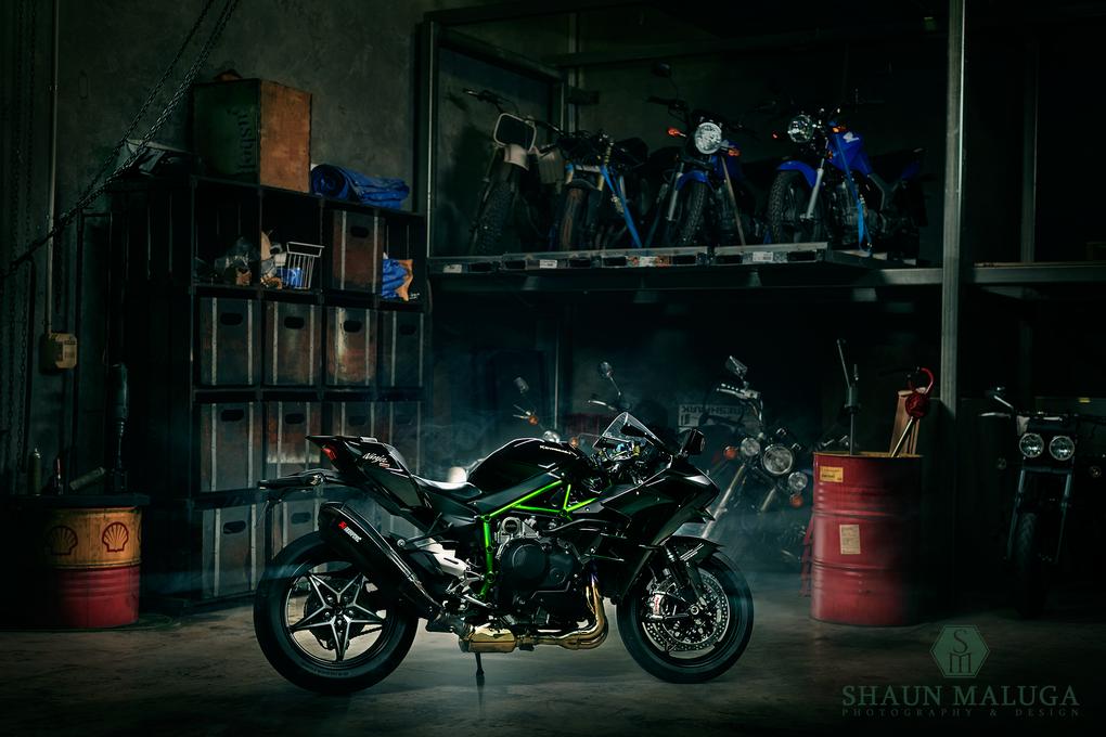 Kawasaki Ninja H2 by Shaun Maluga
