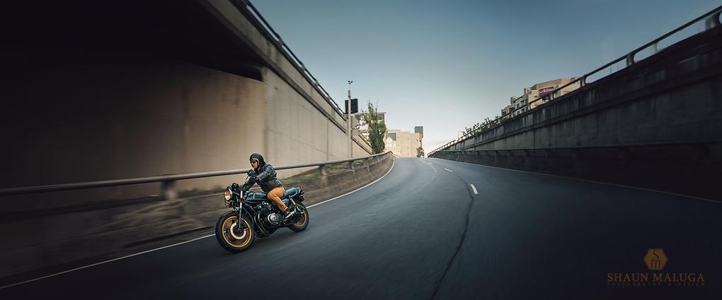 Ben's Honda CB900F by Shaun Maluga
